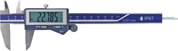 150mm Digital-Taschen-Messschieber Mit Ablesung 0,001 mm, IP 67