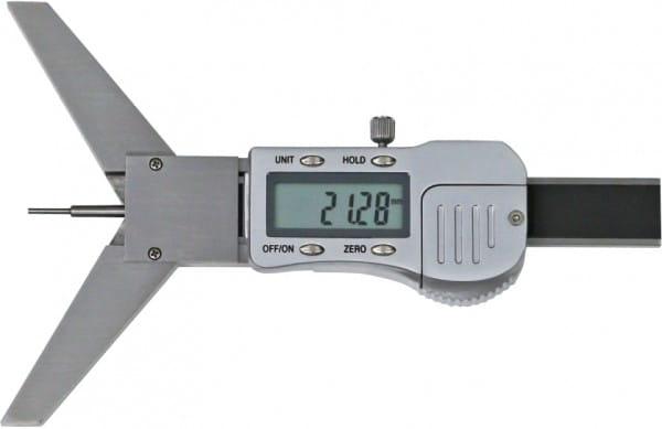 50mm Digital-Tiefen-Messschieber Mit Prisma-Messbrücke
