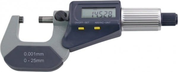 50 - 75mm Digital-Bügelmessschrauben, DIN 863