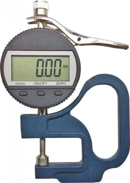 0 - 10mm Digital-Dicken-Messgerät Mit Anlifthebel