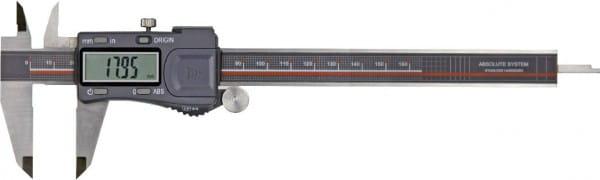200mm Digital-Taschen-Messschieber DIN 862, Absolut System, IP 54